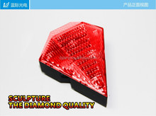 2014 hot sell cheap bike bicycle laser beam rear tail light