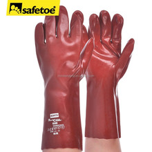 2015 best-selling cotton lined rubber gloves, household rubber gloves, long rubber gloves