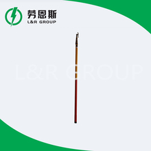 Hot selling high voltage fiberglass telescopic hot stick with high quality