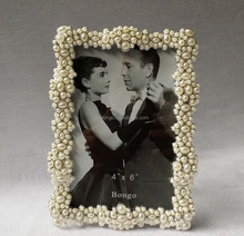 rhinestone pearl picture frames