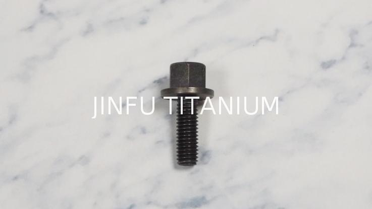 Free sample torx flange head screw titanium torx flange screw titanium nylock nut m14 flanged