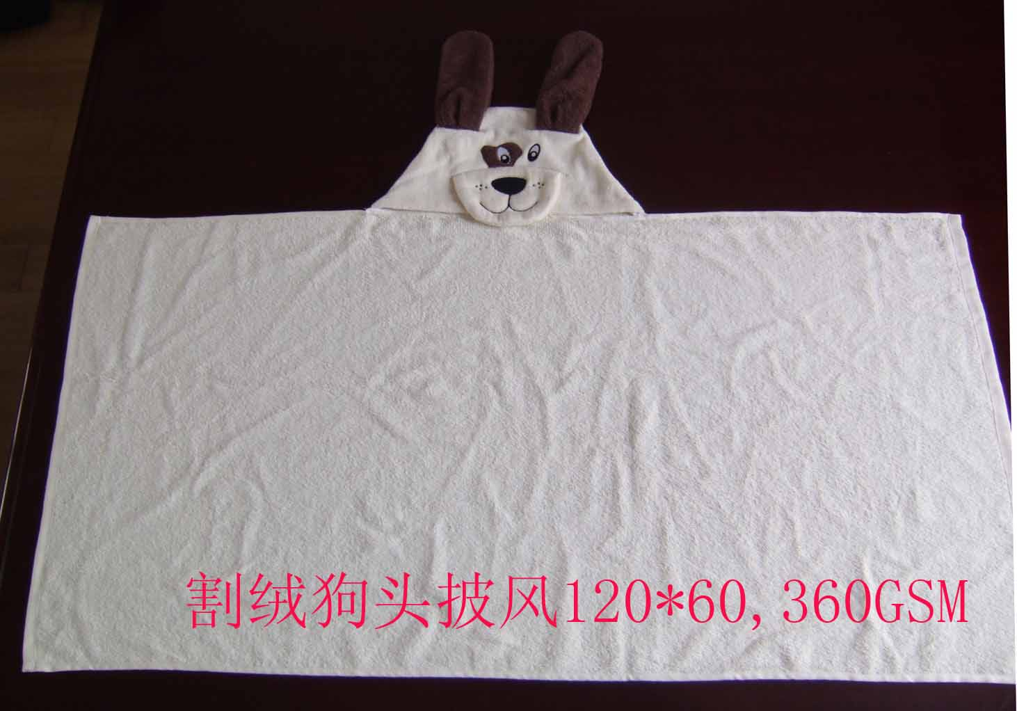 100%cotton baby blanket with embroidery logo