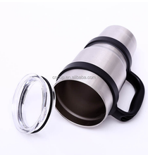 double wall stainless steel auto coffee mug tumbler