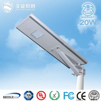 High color rendering index Energy saving light Waterproof led light LED solar street light 20W