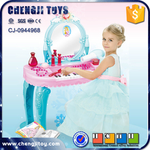 Princess design plastic piano dresser toy for kids