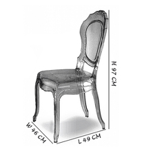 Acylic Party Event Belle Epoque Wedding Chairs For Sale