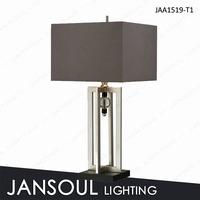 JANSOUL factory direct silver desk light for hotel