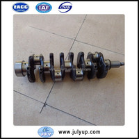 Dongfeng Auto Parts Crankshaft 12201 1W406 for Chaochai DCD Diesel Engine QD32 Series