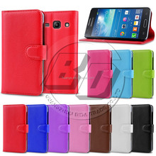 Alibaba Wholesale Mobile Phone Litchi Wallet PU Leather Flip Cover Case for Samsung Galaxy Core Plus G3500