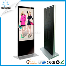 55 inch free standing 3g wifi lcd monitor usb video media player for <strong>advertising</strong>