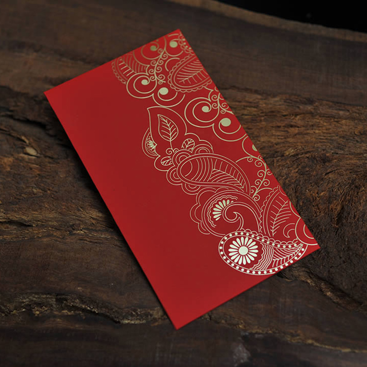 2016 custom made red envelope, special chinese paper envelope