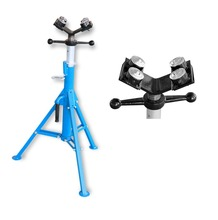 1107B adjustable four ball head pipe stand/ pipe roller stands with 4 balls