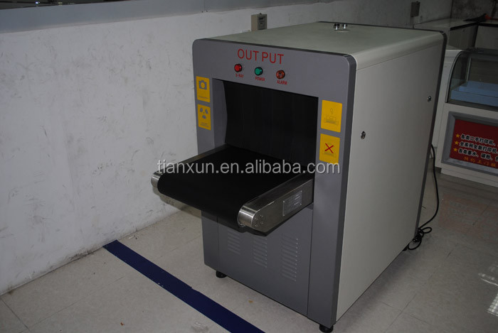 500 ( W ) * 300 ( H ) mm X ray Inspection Baggage Screening Equipment to find weapons, dangerous and illegal at airport