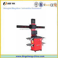 adjustable post support, 3d four wheel alignment