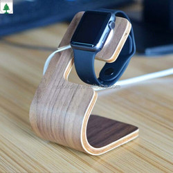 high profit margin products wooden base stand for apple watch/ipad/iphone