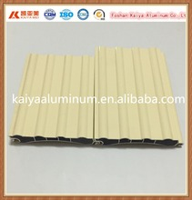 aluminum profiles for roll up garage door Aluminum extruding garage door parts