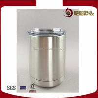 10oz double wall stainless steel thermo coffee cup with lid