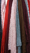 Top Selling 100% cotton net Mesh lace fabric 2017 indian cotton long skirt brocade lace