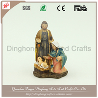 Polyresin Religious Nativity Set Crafts Resin Nativity Scene Figurine