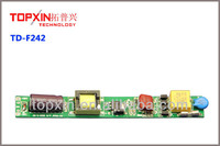9-18W constant current 200Ma isolated led tube driver with efficiency94%