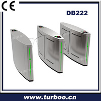 2015 new and hot favorable security 304 stainless steel turnstile gate in High-grade office building with resonable price