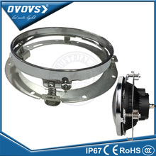 "OVOVS 7"" round led headlight bracket ring for Har-ley motorcycle 7 inch headlamp bracket"