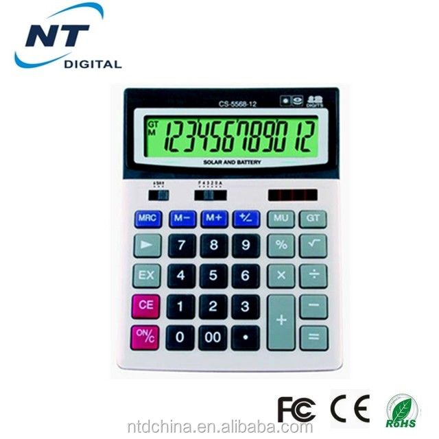 12 digits solar panel calculator