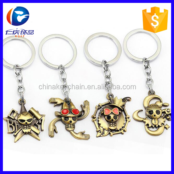 Japanese Anime One Piece Key Chain Keyring