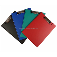 2016 China Supplier Wholesale A3 Folding Clipboard, PVC Clipboard, A4 Double Side Clipboard