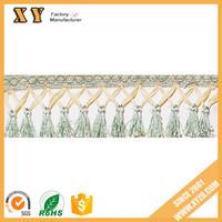 2017 Long tassel fringe ,tassel trims used for home textile decorative