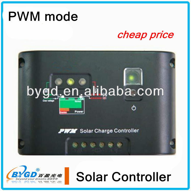 10A/20A/30A/40A solar system charge controller 12v 20a pwm dc motor controller(SC20)