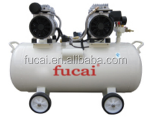 1.0x2HP 7bar Model FC750x2 quality assured CE 100% oil free and silent air compressor.