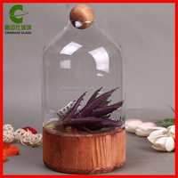 Hot Sales Creative Elegante Wooden Glass