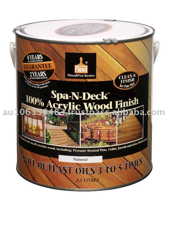 Exterior Wood Finish