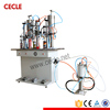 Cecle automatic aerosol can filling sealing machine
