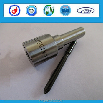 Common rail diesel fuel injector nozzle DLLA150P758 / 093400 - 7580