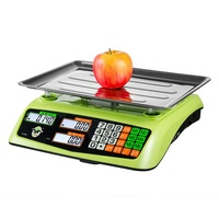30kg OIML Approved Electronic Price Computing bench weighing Scale With RS232 Shop Retail weight scale Ready to Ship