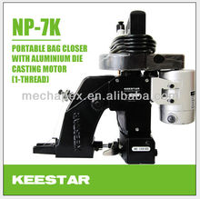 Keestar NP-7K np-7a single needle single thread bag closer sewing machine