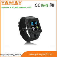 MTK6572 Dual Core Android 4.4 Smart 2016 new Wrist Watch Mobile Phone/ 3G GSM Water Resistant