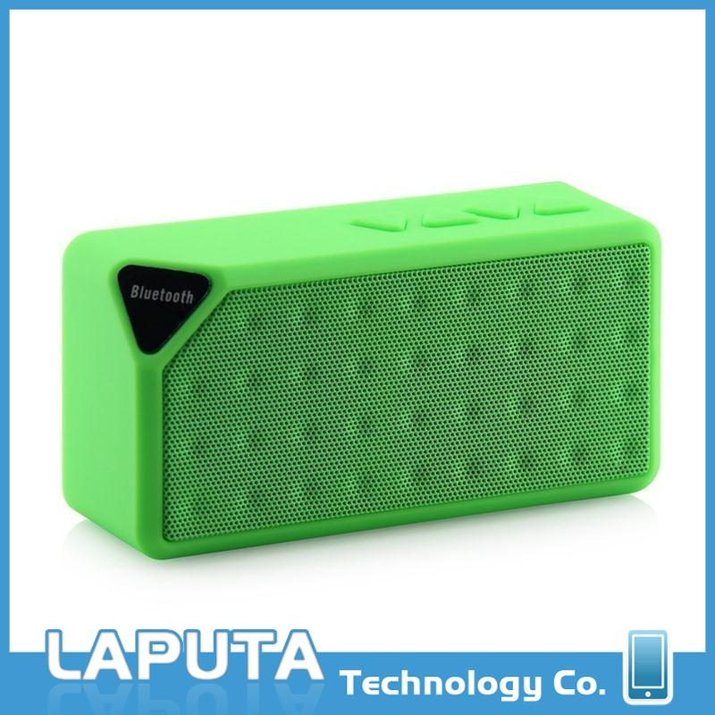 New design subwoofer speakers x3 cheap bluetooth speaker,super bass stereo portable laptop speaker for wholesales