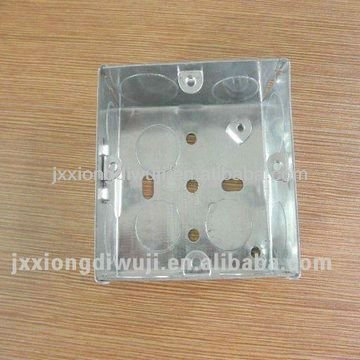 British Standard Electrical 1-Gang wall switch box