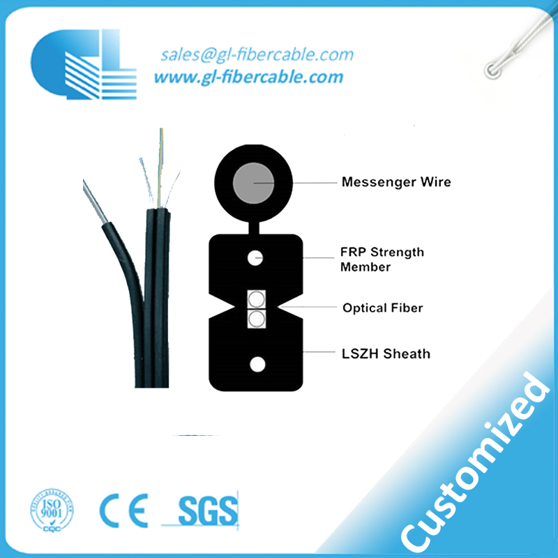 Low insertion loss fiber optic FTTH solution