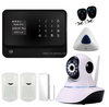 wireless keypad of gsm home alarm system gsm wireless burglar home alarm system with water leakage detector