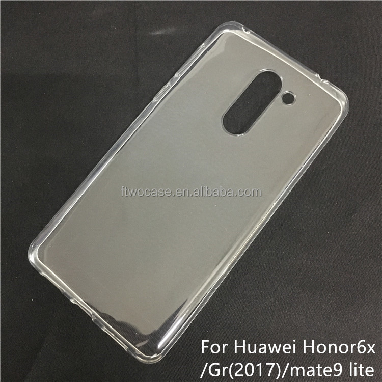 Soft TPU Silicon Transparent Clear case for Huawei Gr5 2017/Enjoy6X