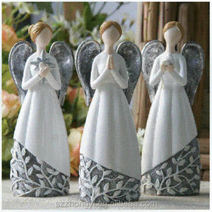Best selling product customized resin angel figurines gift items for doctors