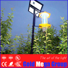 For UAE Professional 15w outdoor anti bug zapper 100% light trap for greenhouse/agricultural/rural area/Livestock farm