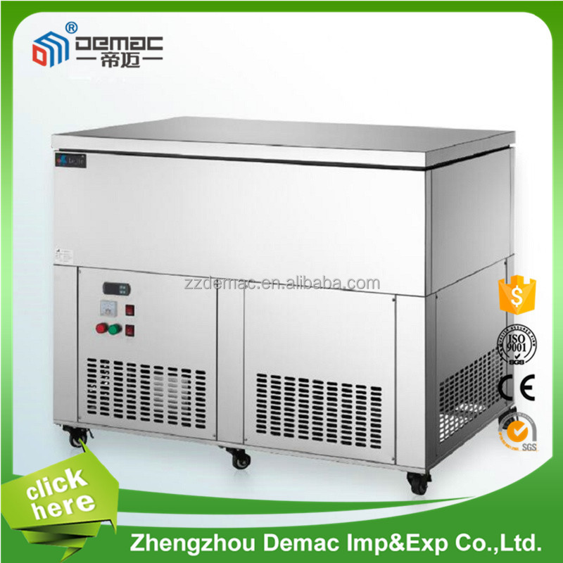 Easy operate leading innovation industrial ice maker/solid ice making machine