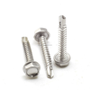 "Stainless Steel #10 x 3"" Type 17 Bugle Head Square Drive Deck Screws"