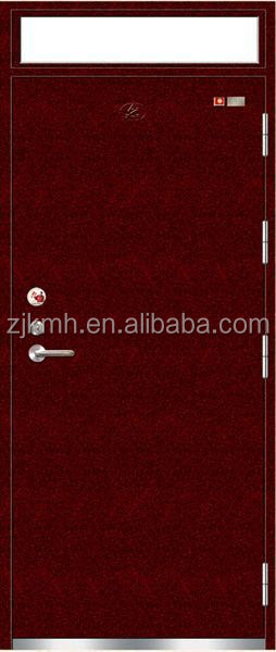 HOT sales matal fire exit doors cheap prices and good quality rated sliding fire proof doors