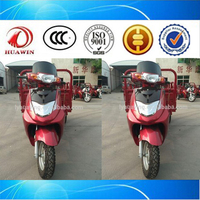 110CC/125CC/130CC Three Wheel Motorcycle Efficient Motorized Trike Pedal Cargo Electric Tricycle